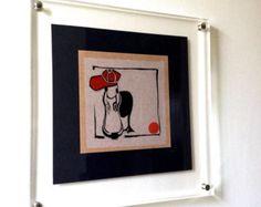 Duck. Linocut Print. Hand-Pressed. Original art. - Edit Listing - Etsy