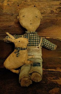 i love this prim boy doll, you always see a lot of girl dolls with sheep and such but you hardly see a boy w/an animal