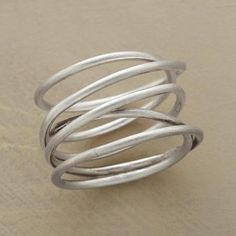 TWISTS & TURNS RING  Like this too.