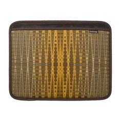 elegant gold beaded pattern sleeves for MacBook air