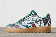 finest selection ded27 82cf8 Nike iD Adding 7 Camo Options for the Air Force 1