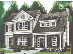 Eplans Traditional House Plan - Three Bedroom Traditional - 1708 Square Feet and 3 Bedrooms(s) from Eplans - House Plan Code HWEPL62906 think I Might've already pinned this, but I like it...