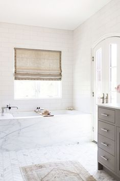 Marble Tub Surround
