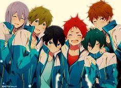 Free! Iwatobi Swim Club- High Speed