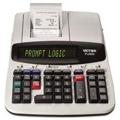 Victor PL8000 14-Digit Prompt Logic Printing Calculator