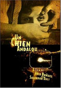 Un chien andalou-Dali surrealist film WATCH IT