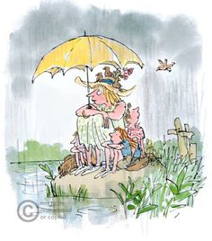 quentin blake - one of my favorite illustrators