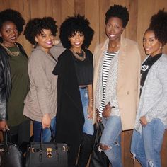 #Repost @ayeciara  Curls night out had a great dinner with @nae2curly @texturedtalk @itsdaynadane @heycurlie @kinkycurlyyaki  come back to visit soon