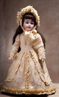 Кукла Simon, 1890 год, высота 634 см, модель 1009 DEP (для французского рынка) - на сайте антикварных кукол.