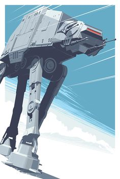 Bring the AT-AT From Hoth to Your Wall With This Beautiful New Poster
