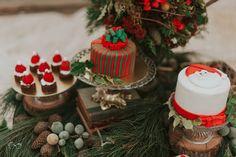 Doces de natal   Villa Giardini   Natal da Villa   Christmas Cake Design   Renata Diniz Chocolatier