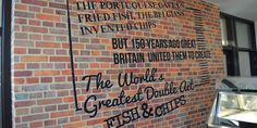 Fish and Chips - the world's greatest double act (interior of Great British Fish and Chips Restaurant and Takeaway) Fish And Chips Restaurant, British Fish And Chips, Chip Ideas, Fish And Chip Shop, British Traditions, Good Heart, Fried Fish, Great British, Presentation
