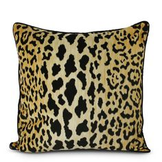 Leopard Print Pillow | Furbish Studio