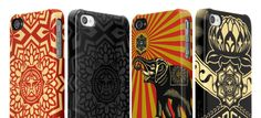 Shepard Fairey iPhone cases by Incase