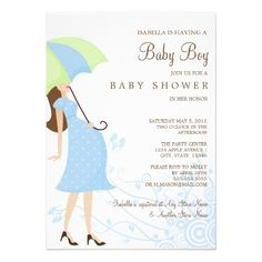 5 x 7 Mommy To Be | Baby Shower Invite