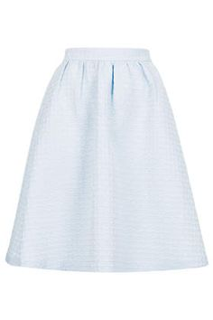 bbcc3cad10b Texture Gathered Knee Midi Skirt - Top Shop Super Cute Dresses