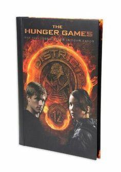 Diario Libreta The Hunger Games (Los Juegos del Hambre) Katniss y Peeta. NECA