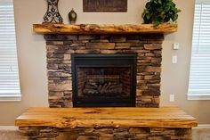 reclaimed wood fireplace mantel | Fireplace Mantels Ideas