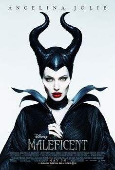 Thanks to Angelina Jolie, the notorious Maleficent has a killer look. Disney princesses sometimes inspire glamorous fashion, but now thanks to Angelina Jolie, the villainous Maleficent is a style muse. Watch Maleficent, Maleficent 2014, Maleficent Makeup, Maleficent Horns, Maleficent Costume, Maleficent Quotes, Maleficent Halloween, Disney Films, Horror Movie Posters