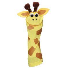 Sock Friends™ Puppets: Giraffe Puppet Kit - consumercrafts.com