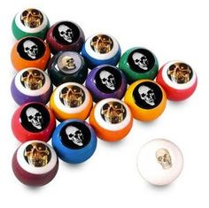 27 weird and cool pool balls and accessories