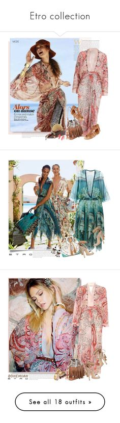 """""""Etro collection"""" by sella103 ❤ liked on Polyvore featuring Etro, Arizona, Bobbi Brown Cosmetics, Leica, Clinique, Zadig & Voltaire, Chanel, WALL, Elizabeth Arden and Vila Milano"""