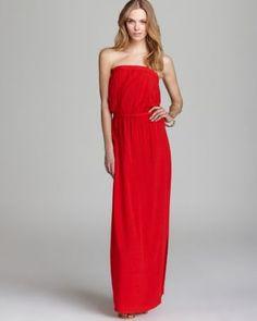 Splendid Dress - Strapless Maxi  Bloomingdale's