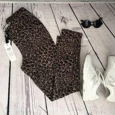 NWT vero moda animal print drawstring pants New with tags, size small. Brand: Vero Moda ASOS Pants Track Pants & Joggers