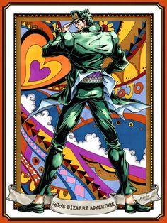 Jotaro Kujo -The Third Jojo Manga Anime, Manga Art, Anime Art, Jojo's Bizarre Adventure Anime, Jojo Bizzare Adventure, Bizarre Art, Jojo Bizarre, Jojo Parts, Jotaro Kujo
