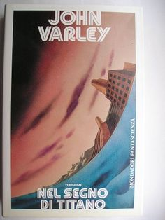 """The novel """"Wizard"""" by John Varley was published for the first time in 1980. It is the second novel in the Gaea trilogy and is the sequel of """"Titan"""". Cover by Karel Thole from the Italian Edition."""