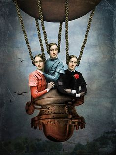 she knew she could fly, Catrin Welz-Stein