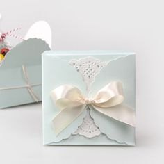 Light Blue Gift Boxes (10 Pcs) //Price: $25.20 & FREE Shipping //     #hashtag1 Cupcakes, Blue Gift, Wedding Accessories, Elegant Wedding, Light Blue, Just For You, Place Card Holders, Free Shipping, Gift Boxes