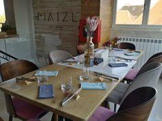 MAIZE - Restocracy - topul restaurantelor 2017 Romania, Table Settings, Restaurant, Diner Restaurant, Place Settings, Restaurants, Dining, Tablescapes