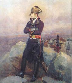 Napoleon with Dragoons looking on. Napoleon Painting, Edouard Detaille, Napoleon Josephine, Empress Josephine, First French Empire, Diego Velazquez, La Malmaison, Jean Baptiste, French Army