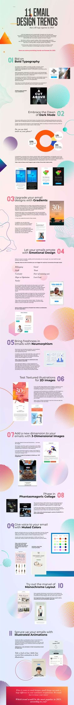 11 Creative Email Design Trends to Watch in 2021 [Infographic] Email Marketing Strategy, Sales And Marketing, Marketing Digital, Media Marketing, Inbound Marketing, Content Marketing, Digital Customer Journey, Social Media Services, Graphic Design Trends