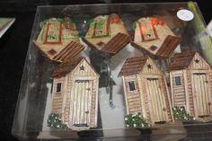 Outhouse wall hooks! Beyond cute....