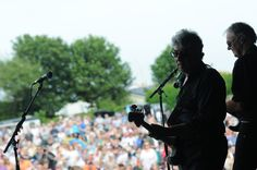 On stage with 10cc