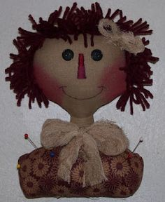 The Best FREE Craft Articles: Annie Pincushion Free E-Pattern From Brenda Greenwalt of Lillie Mae's Crafts