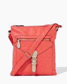 charming charlie | Amelie Crossbody Bag | UPC: 410007237550 #charmingcharlie