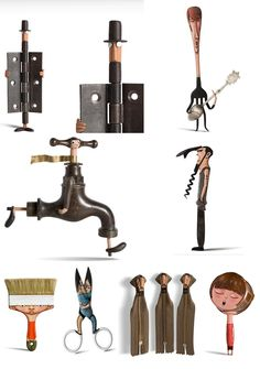 Best 12 How to turn useless everyday objects into pieces of art – SkillOfKing…. Best 12 How to turn useless everyday objects into pieces of art – SkillOfKing. Metal Projects, Metal Crafts, Art Projects, Found Object Art, Found Art, Scrap Metal Art, Welding Art, Welding Tools, Assemblage Art