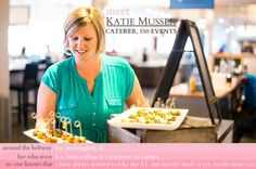 Caterer Katie Musser of 550 Events & Catering | #Entrepreneur #Career | Photography by Jennifer Prophet