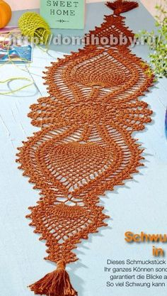 10 pretty crochet edges for crochet blankets (Happy in Red)beautiful doilies patterns are diagramsThis Pin was discovered by sel - Salvabrani Crochet Mat, Crochet Doily Diagram, Crochet Doily Patterns, Crochet Dishcloths, Freeform Crochet, Crochet Home, Filet Crochet, Crochet Flowers, Crochet Table Runner Pattern