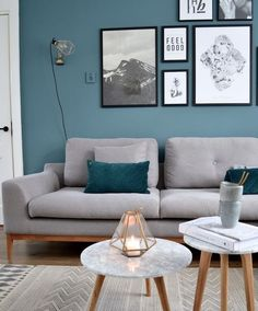 Turquoise Room Ideas - Turquoise it can be vibrant and also solid, it's additionally calming and relaxing.Here are of the very best turquoise room interior decoration ideas. Living Room Photos, Living Room Grey, Living Room Interior, Home Living Room, Living Room Designs, Living Room Furniture, Cozy Living, Apartment Living, Furniture Redo