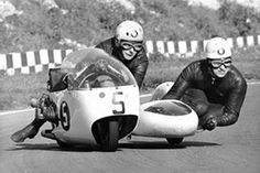Image result for pip harris sidecar racer