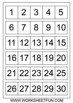 ... Dot With Numbers Printable Puzzles, Fill in the Missing Number 1