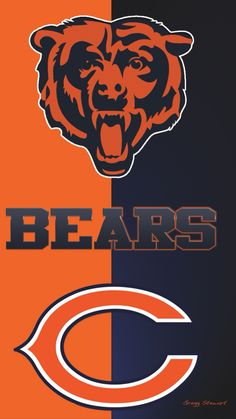 Bear Down!, and get rid of Cutler! Chicago Bears Wallpaper, Chicago Bears Pictures, Digital Art Gallery, Bears Football, Chicago Illinois, Hockey, Rid, Converse, Iphone Backgrounds Tumblr