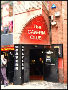 The world famous Cavern Club Liverpool,  though not the original one... I was going to crop this guy out cos he had spotted me and although half of him is out of shot, I still like the look on his face..   This is one of my favourite Beatles songs.. both videos of the same song..   www.youtube.com/watch?v=4Fo9YEhNEbE  www.youtube.com/watch?v=o2d2llB4oIQ&feature=related
