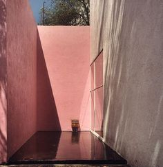 ADD SOME COLOUR WITH PINK LIMEWASH WALLS >>> luis barragan book - Google zoeken