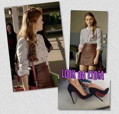 Lydia Martin Outfits, Latest Fashion, Leather Skirt, Skirts, Beautiful, Slip On, Hipster Stuff, Leather Skirts, Skirt