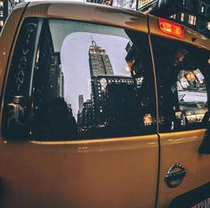 Yellow cabs, NYC.